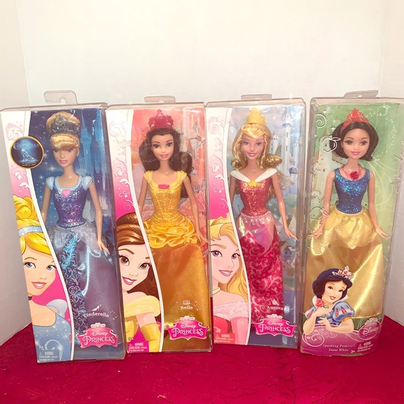 Mattel Other - Lot of 4 Disney Princess Dolls